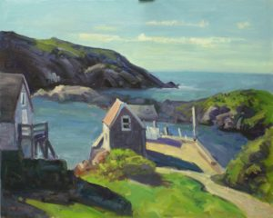 The Boat Landing, Monhegan, Me