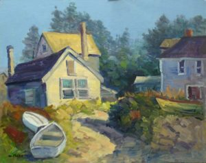 Late Light, Monhegan , Me