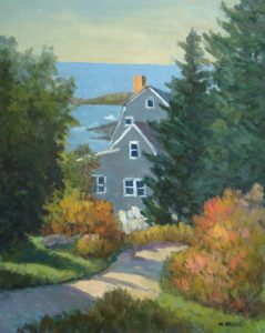 Road To The Village, Monhegan, Me