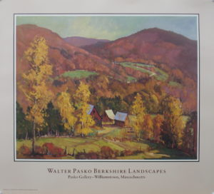 Fall In The Berkshires, Poster
