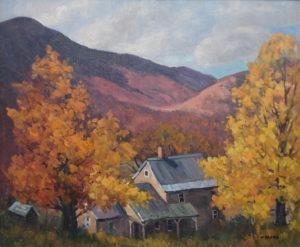 Deserted House Below Greylock Mt