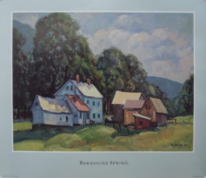 Spring In The Berkshires, Poster